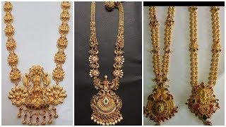 Haram with designs price gram 40 gold Rani Haar