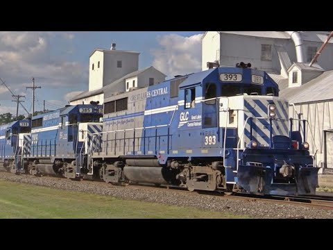 Great Lakes Central's GP35 Locomotives