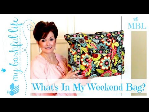 What's In My Weekend Bag? /Packing Light & Easy