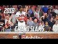 MLB Grand Slams Of 2018