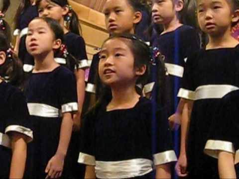 Elysha's Crystal Choir Performance on 2009-12-13
