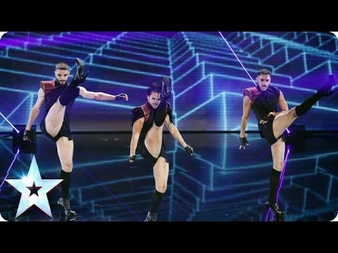 Sound the alarm! It's Yanis Marshall, Arnaud and Mehdi | Britain's Got Talent 2014 Final