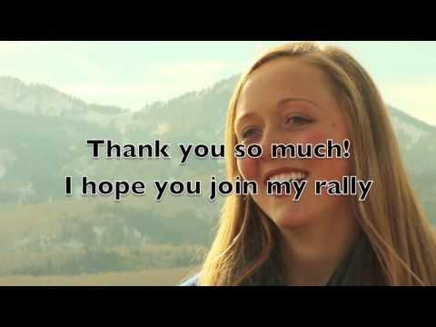 Katharine Irwin's RallyMe VIdeo