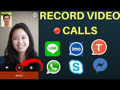 How To Record Any Video Calls (No Root) -Imo,Skype,Messenger,Viber,Whatsapp anything(2017)