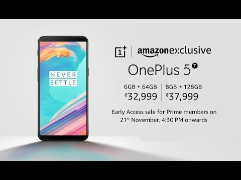 OnePlus 5T is now Available from Amazon India | Get it Now Before Stock Ends
