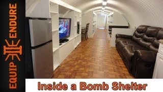 Inside a Bomb Shelter with Atlas Survival Shelters by Equip 2 Endure