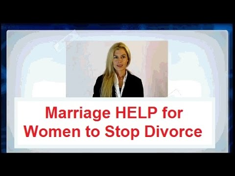 ★ I don't want a Divorce but my Husband does -► Marriage Help!