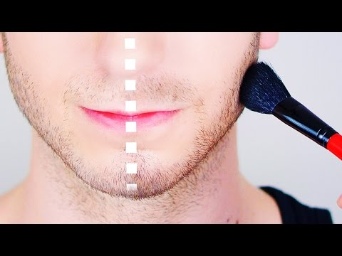 Fake a Thicker Beard // Male Makeup