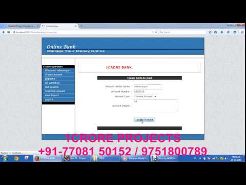 Online Banking (JAVA)