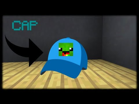 Minecraft PE | How to Make a Cap (No Mods or Addons)