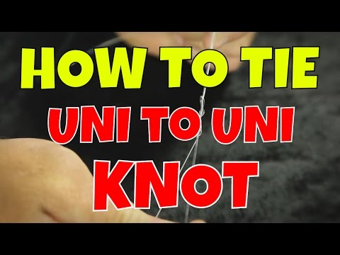 How To Tie a Double Uni Knot Braid to Fluorocarbon Seaguar