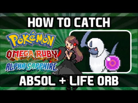 Pokemon Omega Ruby / Alpha Sapphire - How To Catch: Absol [Life Orb Farming]