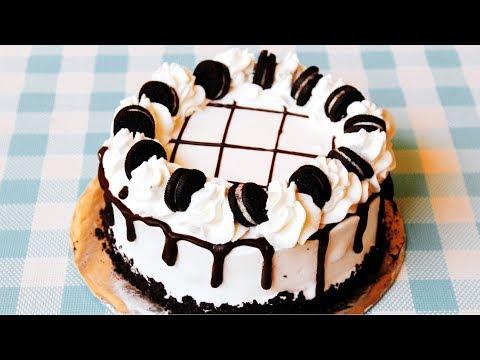 How To Make an OREO ICE CREAM CAKE