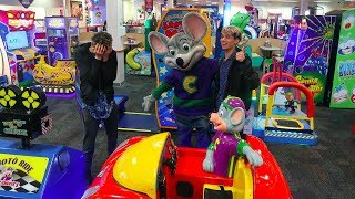 Twins cry after visiting Chuck E Cheese 10 years later!