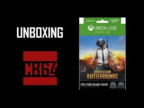 Unboxing: 3 Month Xbox Live Gold PUBG Edition