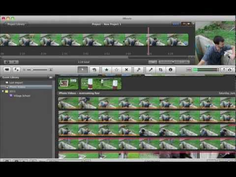 3 How to split clips and delete sections in iMovie 11