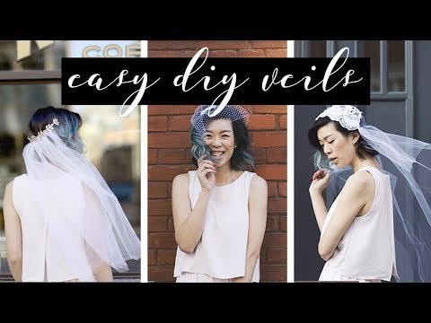 DIY Wedding Veils | WITHWENDY