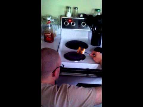 Redneck marshmallow roast