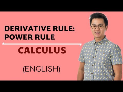 Calculus - Finding the Derivative of a Function Using Power and Constant Rules