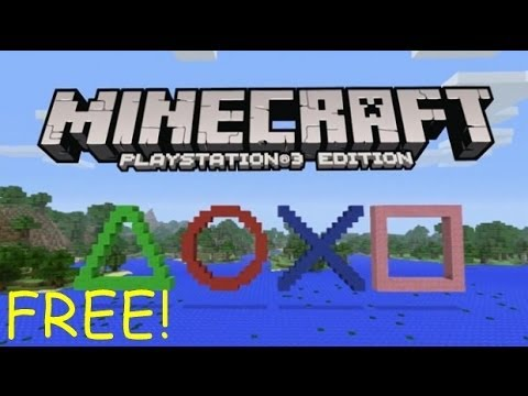 Minecraft Playstation 3 edition FREE [Patched 2014]