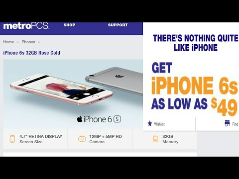 Get a Metro pcs iPhone 6s for $49 when you port over. For a limited-time.