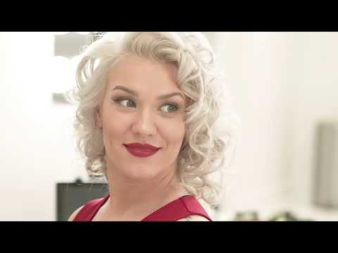 TIFF Red Carpet Marilyn Monroe Hair f. Kevin Murphy Products by Dylan Dias