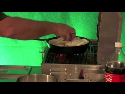 Coke and Onions Hot Dog Cart Training by BensCarts.com