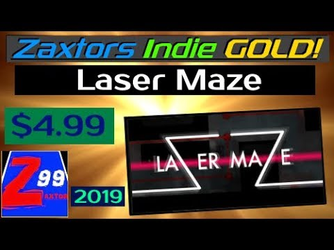 Zaxtor's Indie GOLD! - Laser Maze - A Gem for Fans of Deep Laser Bending Puzzle Games!
