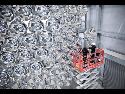 German Scientists Test World's Largest Artificial Sun