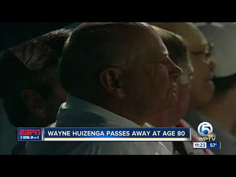Former Dolphins, Marlins and Panthers owner Wayne Huizenga passes away at age 80