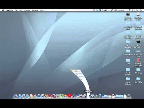 Learn to use a Mac - How to quit an application on a Mac