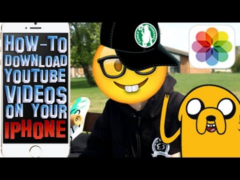How To Download YouTube Videos Onto Your iPhone FREE! 2016