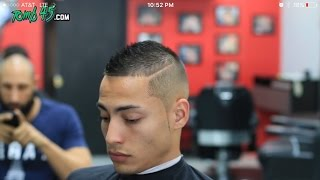 Faux Hawk Fade Haircut! Using Wahl Clippers