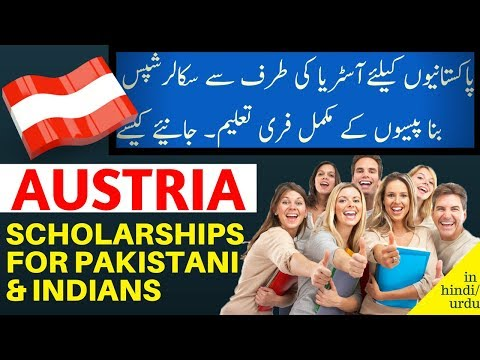 Study in Austria Scholarships for Pakistani and Indian Students