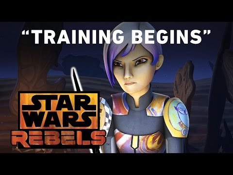 Training Begins - Trials of the Darksaber Preview | Star Wars Rebels