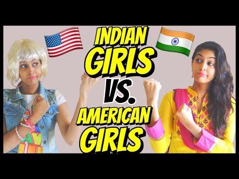 American Girls VS. Indian Girls | Part 1 | Rickshawali