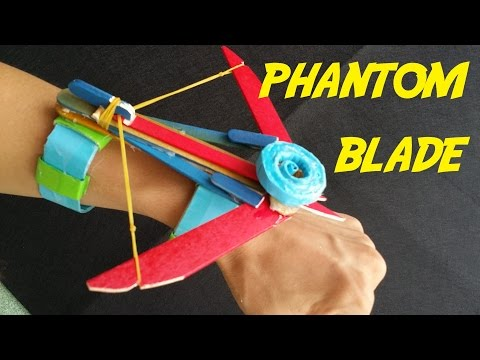 How to make the Phantom Blade (Assassins Creed) | wrist Crossbow