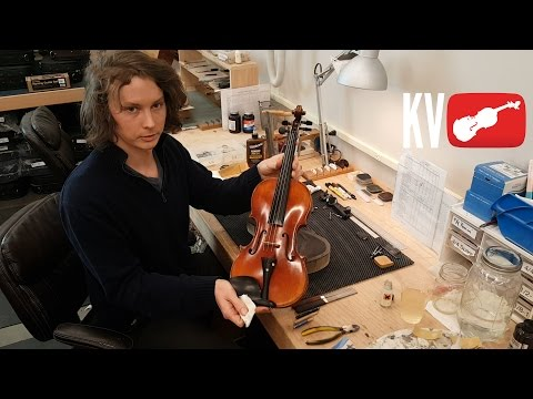 How to Clean Your Violin at Home by Kennedy Violins