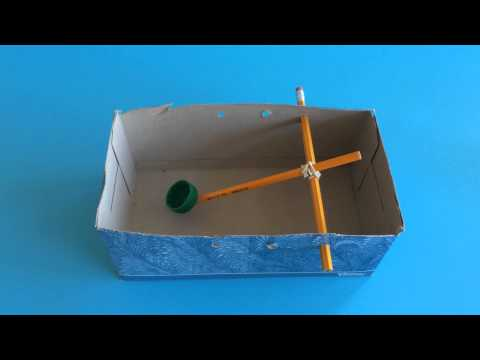 How to Build and Explain a Box Catapult