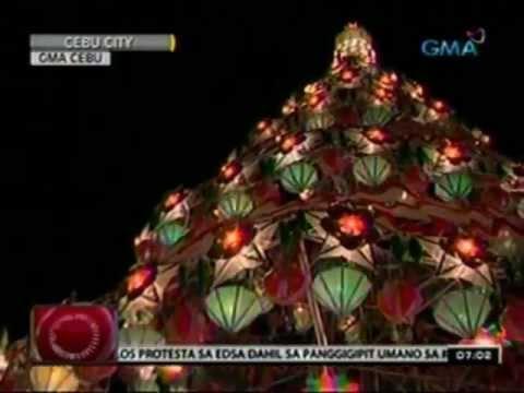 24 Oras: Mga parol na gawa sa recycled at indigenous materials, ibinida sa lantern parade