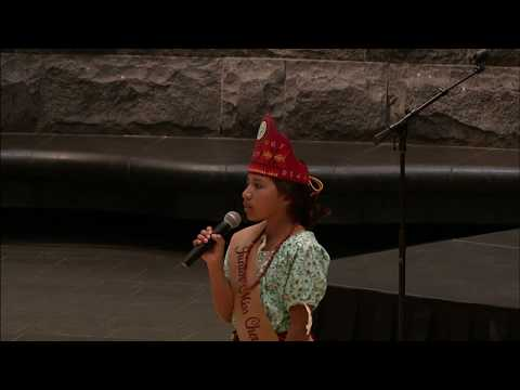 Cherokee Days 2018 - Dadaya Swimmer Performs Home from Beauty and the Beast