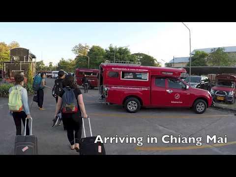 DS Thailand Vlog #2 (1080) - Chiangmai, First Time Yoga, Wat Doi Suthep, I Get Cursed :(