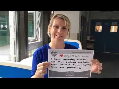Midwives at North Bristol NHS Trust on why they love their job!