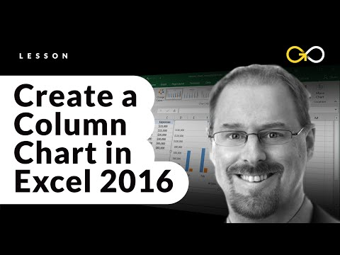How to Create a Column Chart in Excel 2016