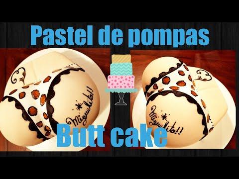 Butt cake /pastel de pompis