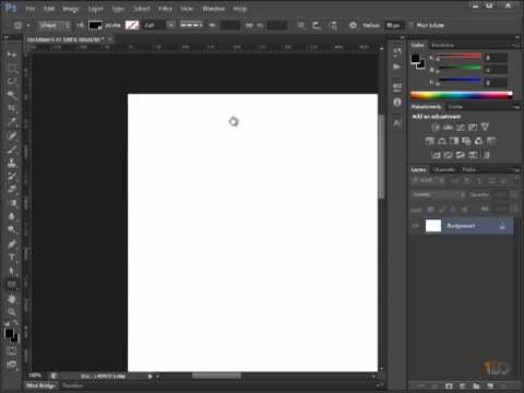 Learn How To Use Photoshop For Web Design: Basic Tools & Panels #2