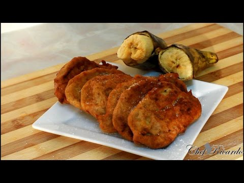Jamaican Ripe Plantain Fried Fritters (Jamaican Chef) | Recipes By Chef Ricardo