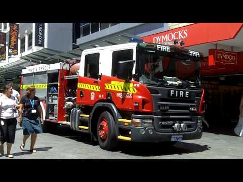 Fire Trucks in Perth, Western Australia