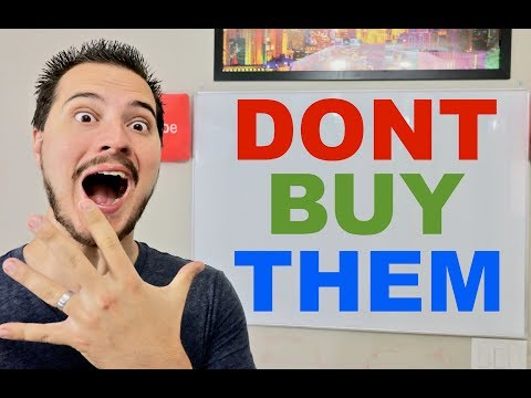5 Reasons To NOT BUY A STOCK
