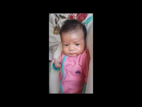 New born baby dry skin